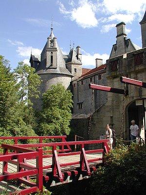Château de la Rochepot - Pont-levis