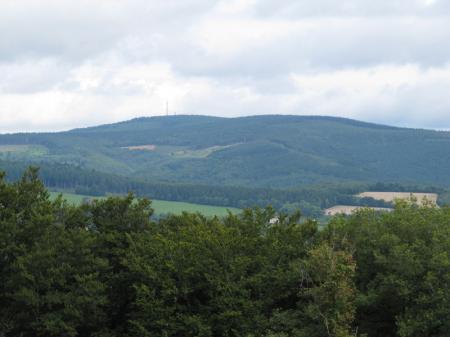Morvan - Haut Folin vu depuis Mont Beuvray